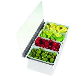 Контейнеры для фруктов BONZER из нержавеющей стали  4 контейнера