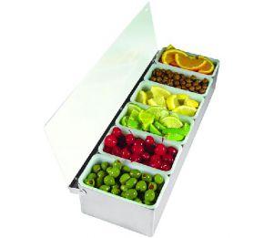 Контейнеры для фруктов BONZER из нержавеющей стали  5 контейнера